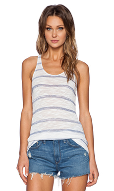 Stateside Stripe Tank in White