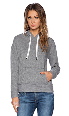 Stateside Hoodie in Heather Grey