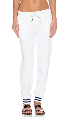 Stateside Sweatpant in White