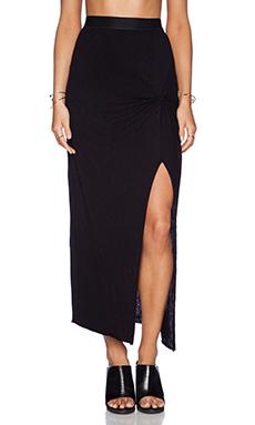 Stateside Slit Skirt in Black