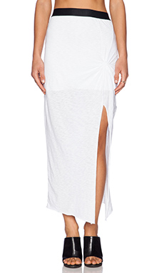 Stateside Slit Skirt in White