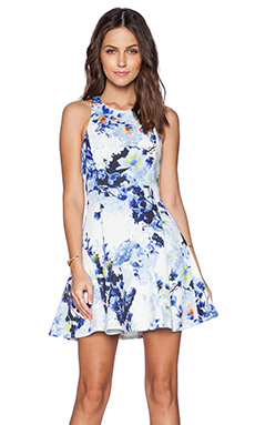 State of Being Blue Blossom Dress in Multi