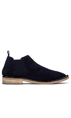 Steven Dylyn Bootie in Navy Suede