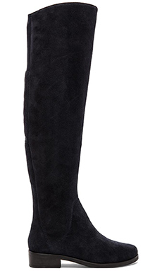 Steven Salley Boot in Navy Suede