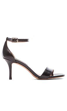Steven Vienna Heel in Black Leather
