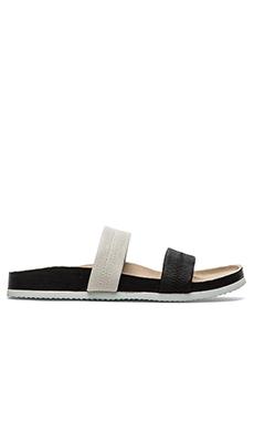 Steven Nesi Sandal in Black & White