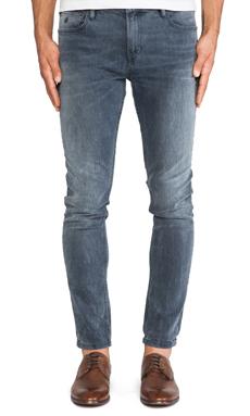 Scotch & Soda Skim Alpha Beat Jeans in Charcoal