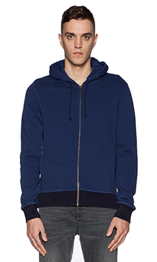 Scotch & Soda Home Alone Zip Hoody in Cobalt