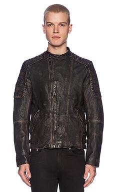 Scotch & Soda Biker Jacket en Black Rock