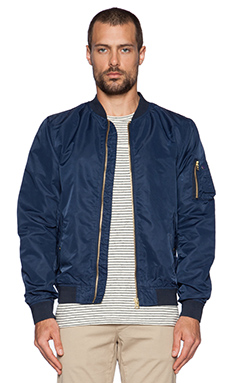 Scotch & Soda Bomber Jacket in Navy