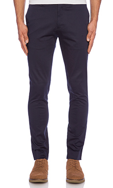Scotch & Soda Chic Slim Fit Chino Pant in Navy