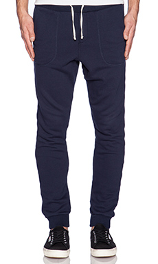 Scotch & Soda Home Alone Sweat Pant in Navy