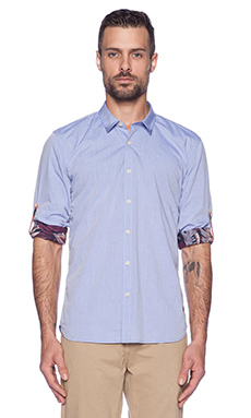 Scotch & Soda L/S Button Down in Blue