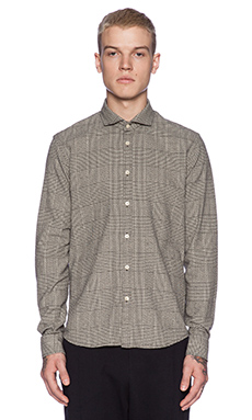 Scotch & Soda L/S Button Down in Black/White