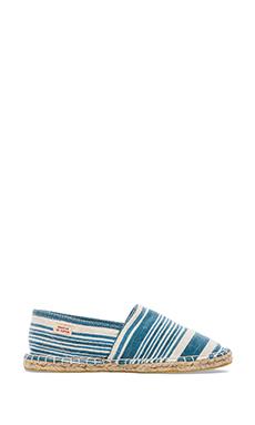 Scotch & Soda Canvas Espadrilles in Blue & White