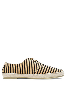 Scotch & Soda Structured Loafers in Black Sand
