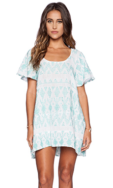 STELA 9 Tulum Dress in Turquoise