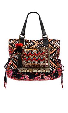 STELA 9 Devi Day Bag in Black
