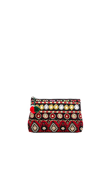 STELA 9 Devi Pouch in Red Multi