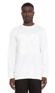 Stampd 93 L/S Tee in White