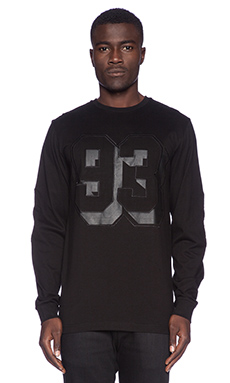 Stampd 93 L/S Tee in Black