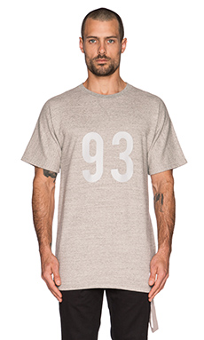 Stampd 93 S/S Crew in Heather Grey