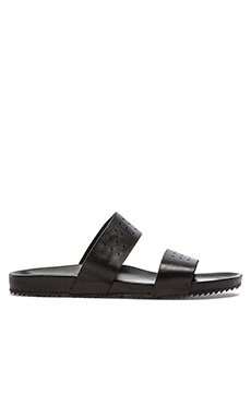 Stampd The Salone Sandal in Black