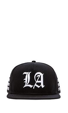 Stampd LA Golden Era Hat in Black