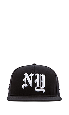 Stampd NY Golden Era Hat in Black