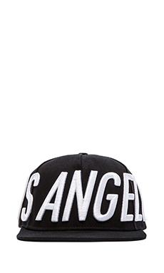 Stampd Big LA Hat en Noir