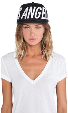 Stampd Big LA Hat in Black