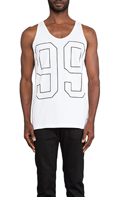 Stampd 99 Tank in White