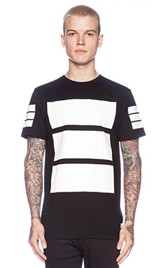 Stampd Box Tee in Black