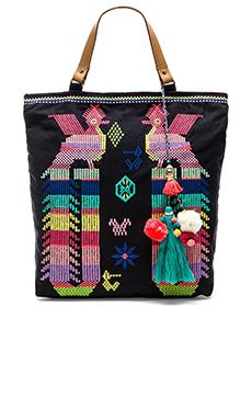 Star Mela Revi Embroidered Bag in Dark Navy