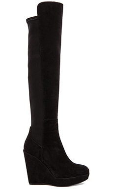 Stuart Weitzman Highline Boot in Black