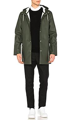 Stutterheim Stockholm Jacket in Forest Green