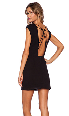 THE WEB BACK MINI DRESS