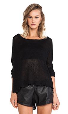 Stillwater The Raglan Pullover in Black
