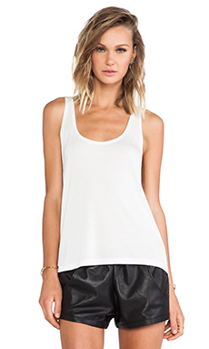 Stillwater The Crescent Tank in Ivory