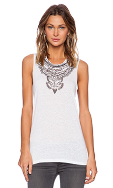 NECKLACE MUSCLE TANK