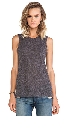 Stillwater The Muscle Tank in Charcoal