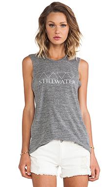 Stillwater The Muscle Tank Stillwater Print in Heather