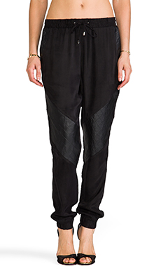 Suboo The Abbey Track Pant in Black