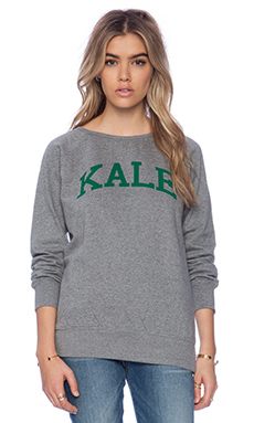 sub_urban RIOT Kale Sweatshirt in Heather Grey