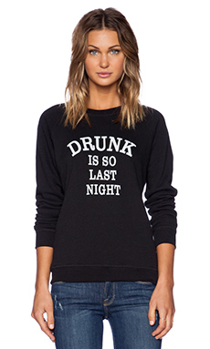 Sub_Urban RIOT So Last Night Sweatshirt in Black