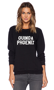 Sub_Urban RIOT Quinoa Phoenix Sweatshirt in Black