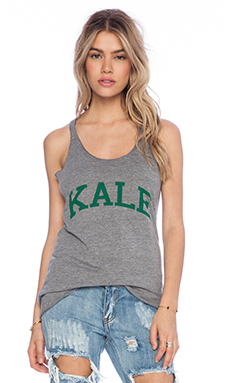 sub_urban RIOT Kale Racer Tank in Heather Triblend