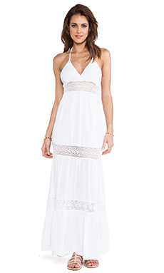 Surf Gypsy Maxi Dress in Ivory