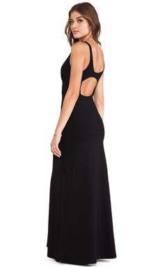 Susana Monaco Jill Maxi Dress in Black