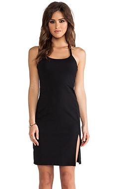 Susana Monaco Monica Cross Back Dress in Black